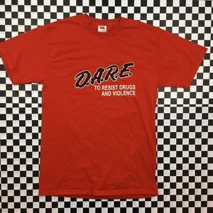 D.A.R.E to Resist Drugs Tee